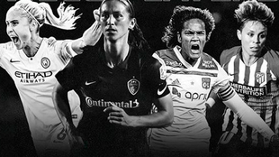 City, Courage, Lyon y Atlético jugarán la Women's International...