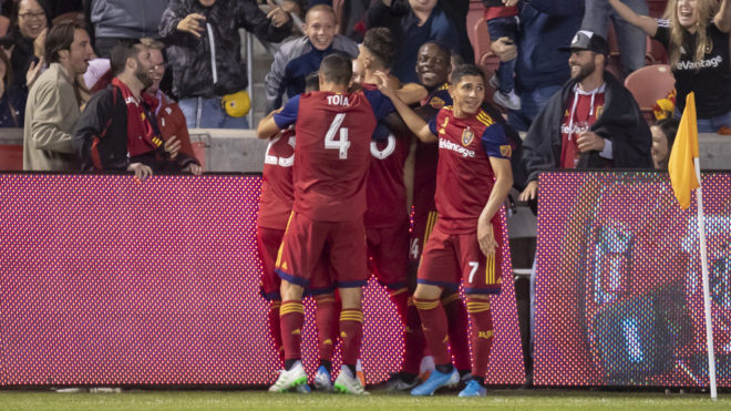 Real Salt Lake vence a los Quakes.