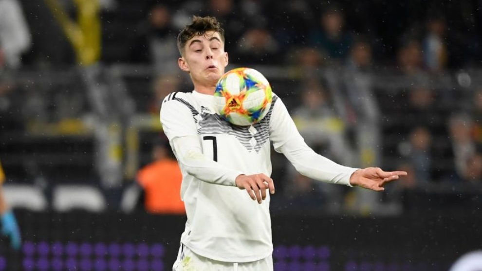 Havertz, del Bayer Leverkusen, deseado por Real Madrid, Barcelona y...