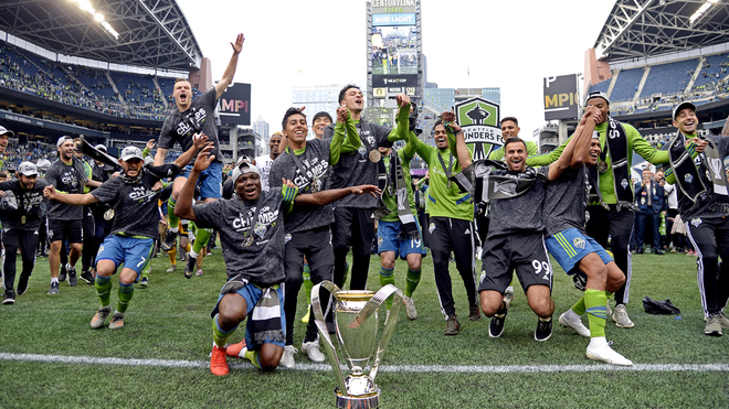 Seattle Sounder son campeones.
