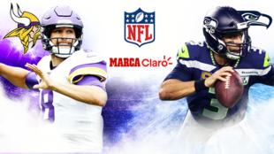 Minnesota Vikings vs Seattle Seahawks en vivo.