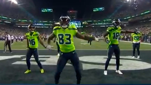Seattle baila en el Monday Night Football.