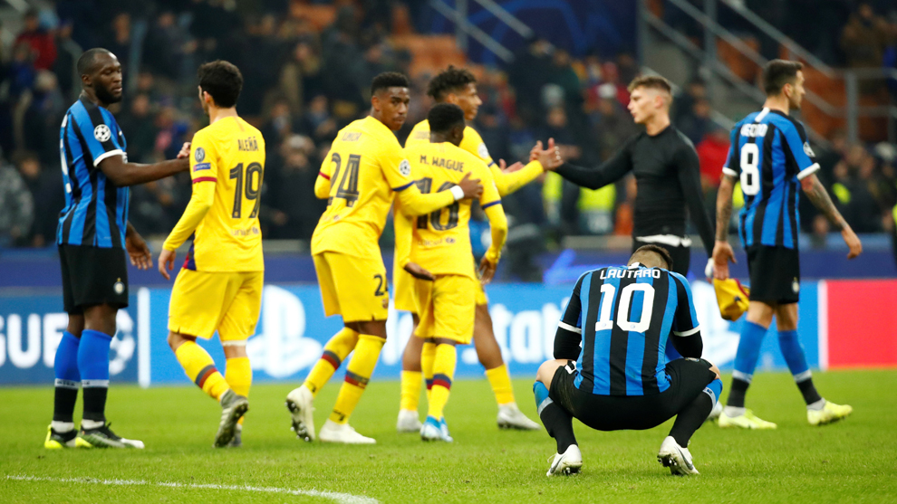 Champions League: Inter Milan vs FC Barcelona: resumen ...