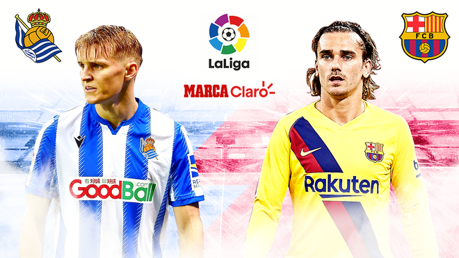 Real Sociedad vs Barcelona, en vivo.