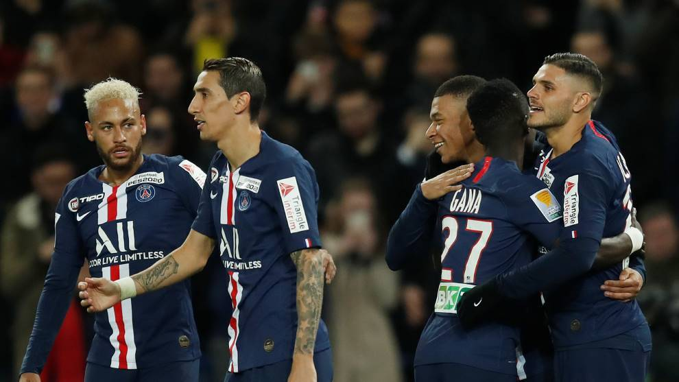 "Los cuatro ""monstruos"" del Paris Saint-Germain"