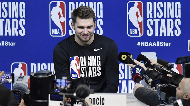 Luka Doncic se dice listo para el All-Star Game.