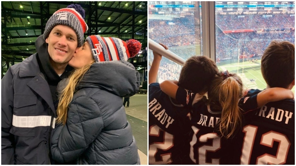 Gisele Bundchen se despite de los Patriots y de Boston.
