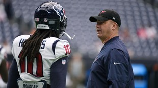 Bill O'Brien justifica el cambio de DeAndre Hopkins.