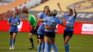 Chicago Red Stars se impuso en la semifinal a Sky Blue.