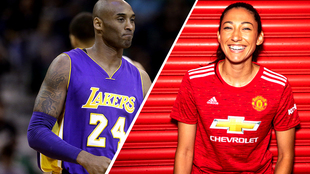 Christen Press rendirá homenaje a Kobe Bryant en el Manchester...