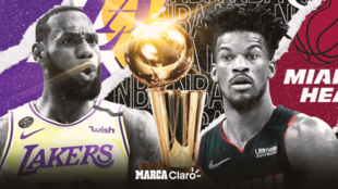 Los Angeles Lakers vs Miami Heat, las NBA Finals 2020.