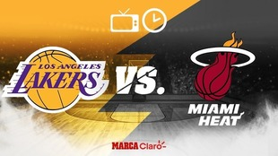 Los Angeles Lakers vs  Miami Heat: resultados, calendario y horarios...