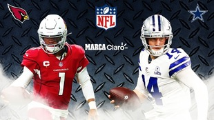 Arizona Cardinals vs Dallas Cowboys en vivo online el MNF de la NFL,...