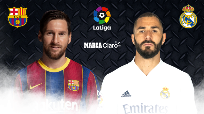 Barcelona vs. Real Madrid en vivo online.