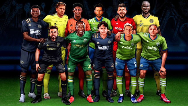 La MLS presenta su XI ideal del 2020.