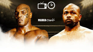 what time is the mike tyson fight tonight