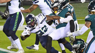 Seahawks logra la victoria en el Monday Night Football.