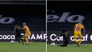 Los Angeles FC reclaman penalti no marcado en la final ante Tigres.