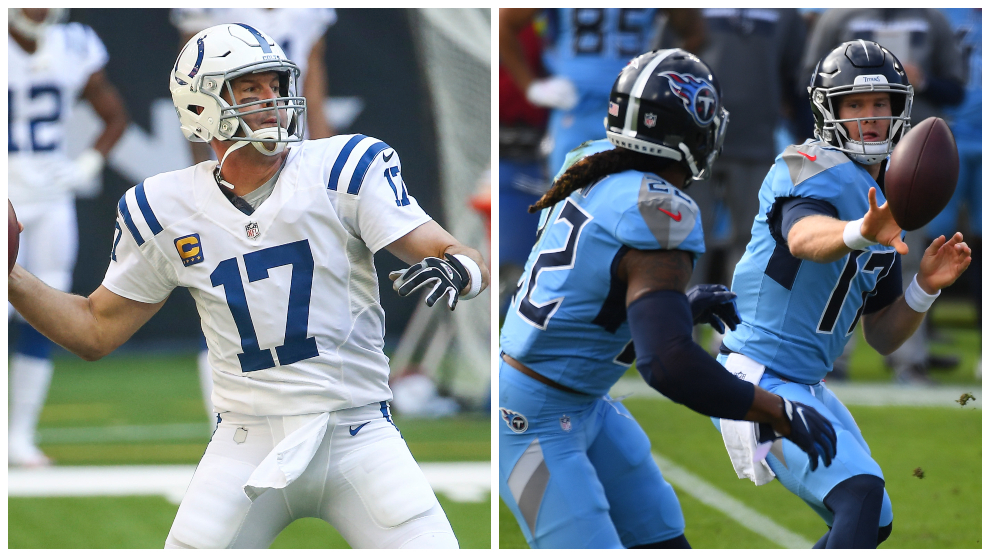 What do the Titans and Colts need to win the AFC South?