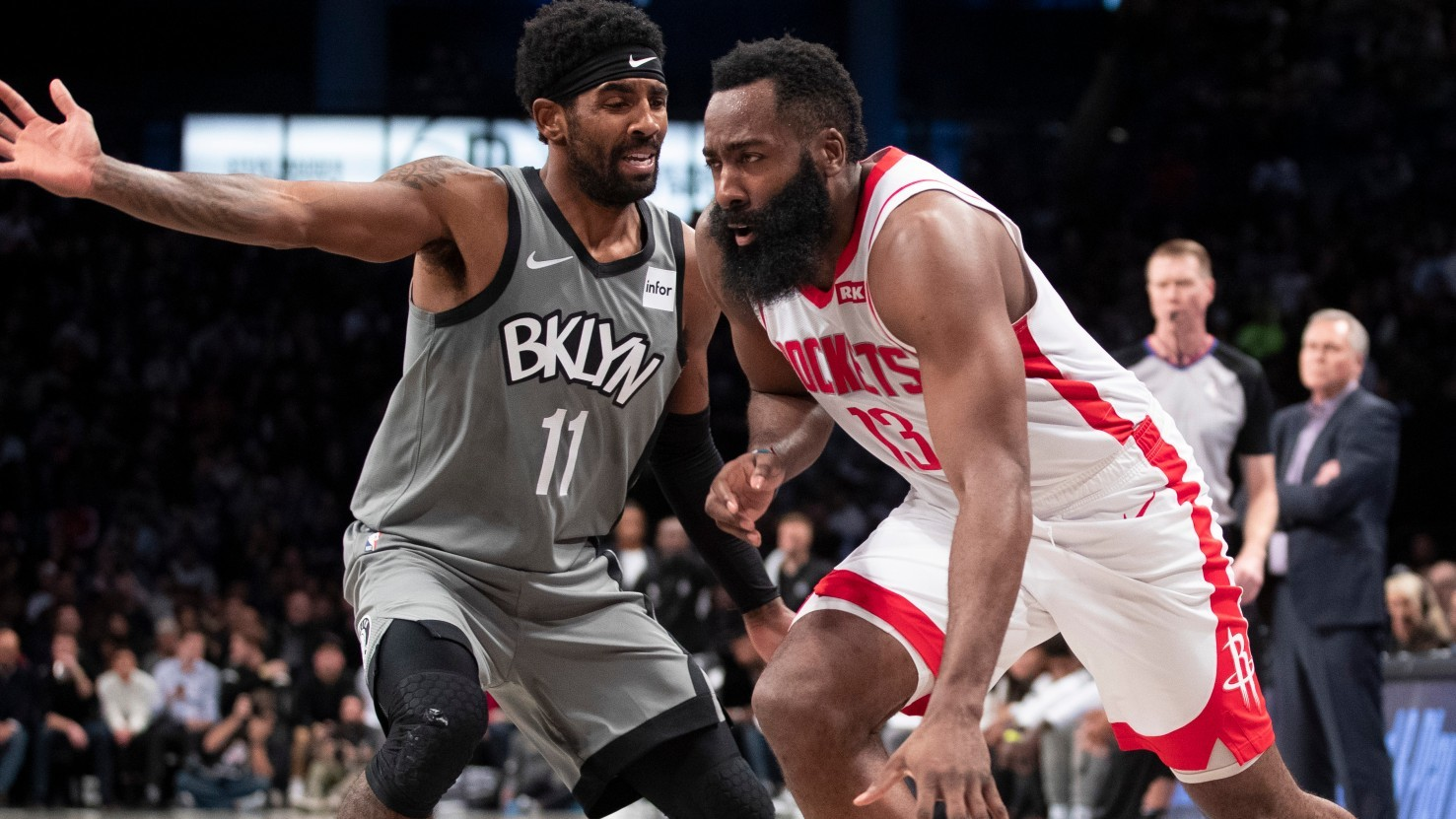 Los Rockets de Houston mandan a los Nets de Brooklyn a James Harden.
