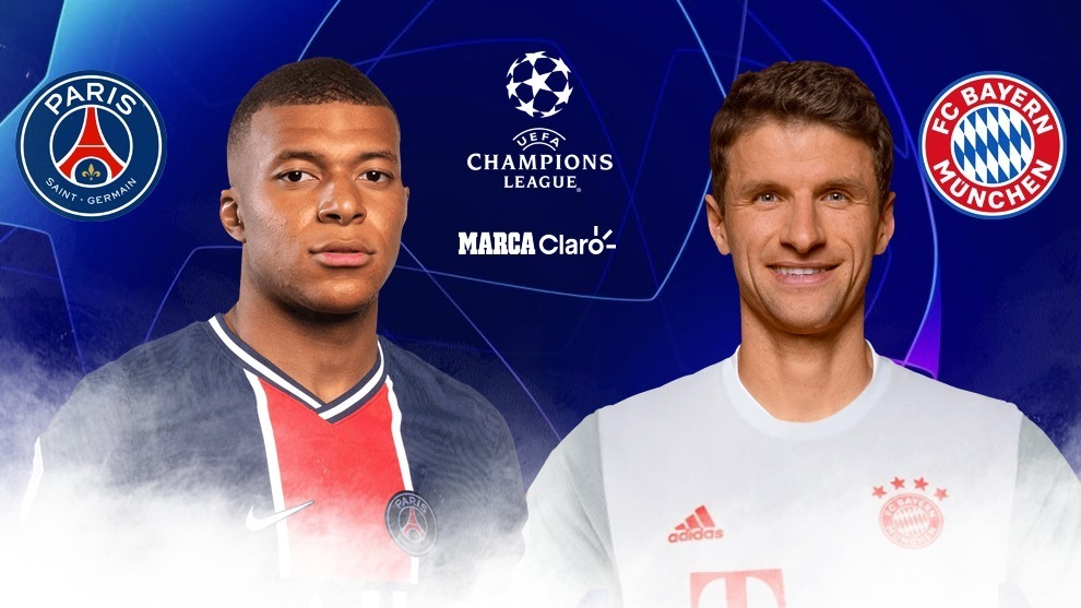 PSG vs Bayern Munich en vivo Champions League; live stream free now.