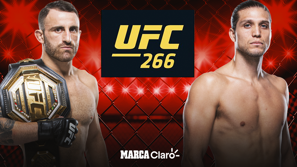 UFC 266 live stream PPV full fight: Ultimate Fighting Championship.